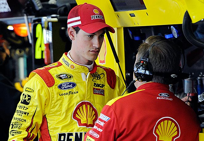 Even after a 25-point penalty from NASCAR, the precocious Joey Logano is still 14th in the points.