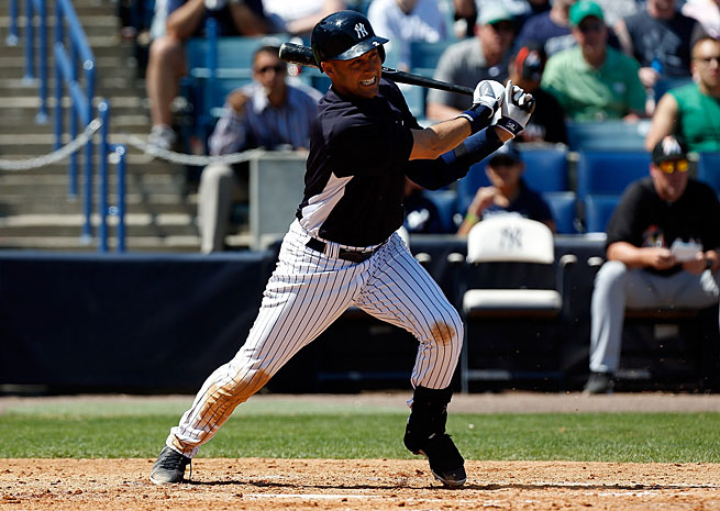 Derek Jeter played during spring training but has yet to play a regular-season game for the Yankees this year.