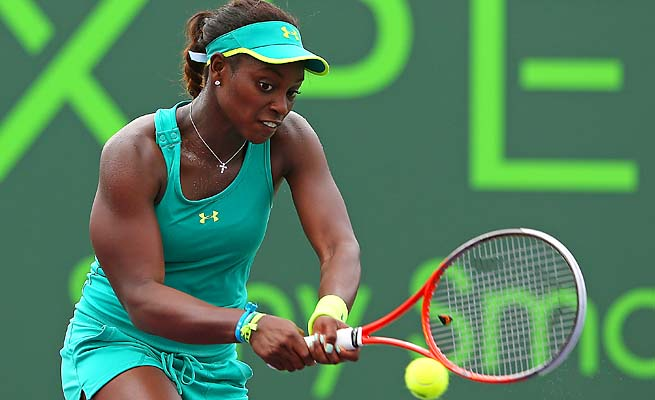 Sloane Stephens hasn't made it past the round of 16 in a tournament since the Australian Open.