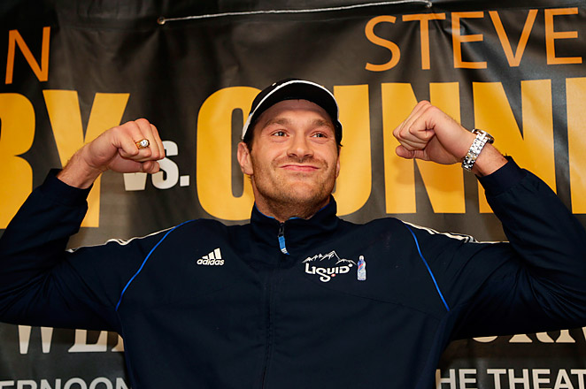 Unbeaten Fury certainly isn't afraid to talk, promising to dominate Cunningham in the ring on Saturday.