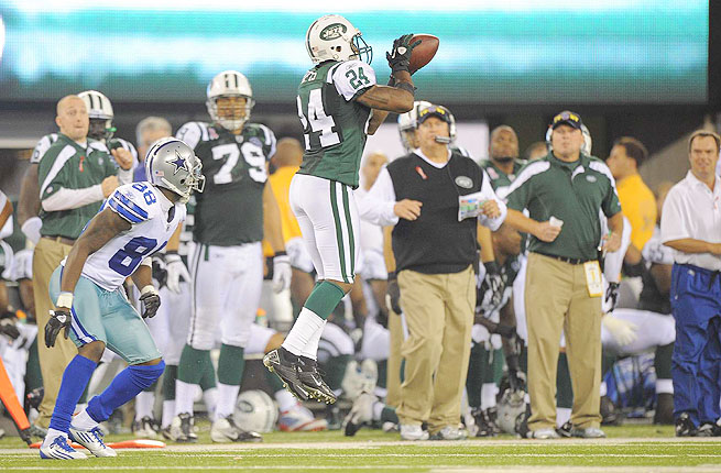 Darrelle Revis played just one full game in 2012 before tearing his ACL in Week 3 against Miami.