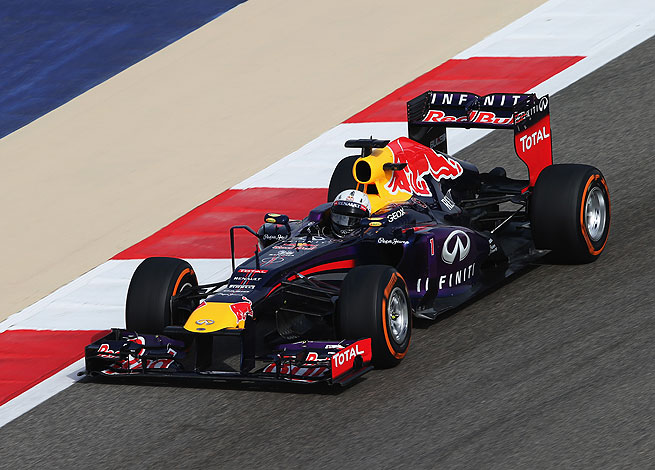 Sebastian Vettel's victory was the second straight for the Red Bull driver at the Bahrain Grand Prix.