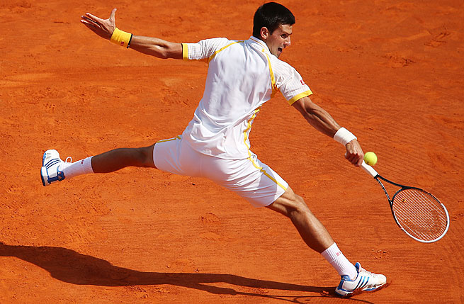 Top-ranked Novak Djokovic ended Rafael Nadal's eight-year reign at the Monte Carlo Masters.