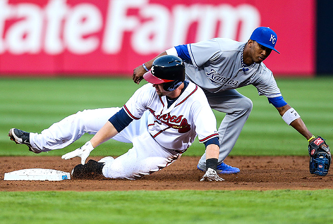 Chris Johnson earned a starting role in the Braves' infield while playing for injured Freddie Freeman.