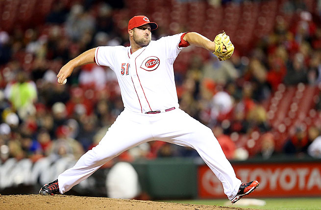 Jonathan Broxton was forced into a setup role by injuries and is 0-1 with an 7.36 ERA so far this season.