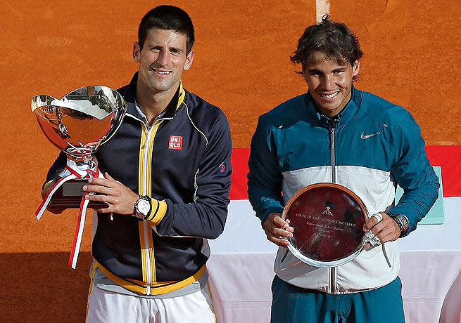 A full spring of Novak Djokovic (left) and Rafael Nadal squaring off is just one intriguing storyline.