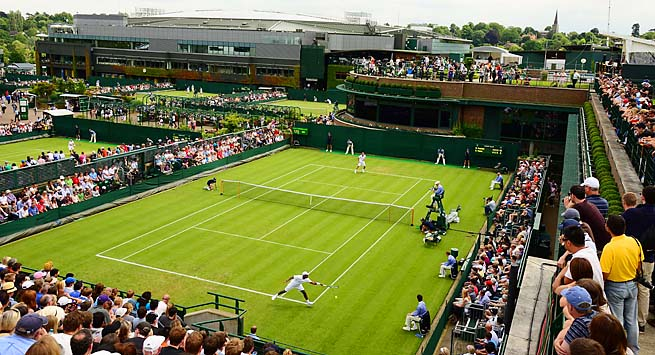 Wimbledon will be played from June 24 to July 7 this year.