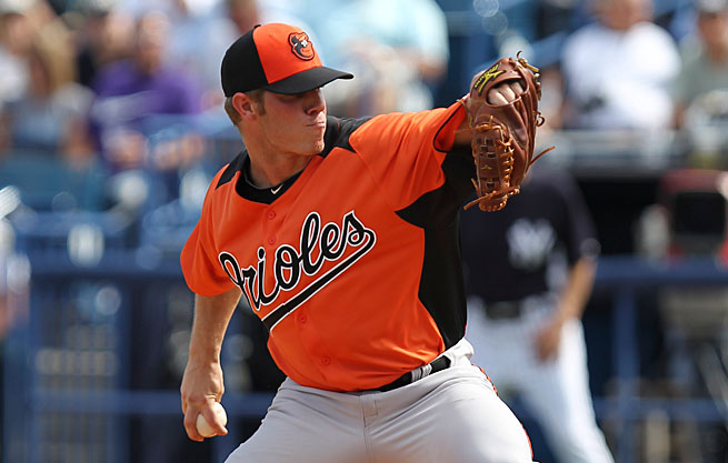 Dylan Bundy, the Orioles' top pitching prospect, first developed soreness late in spring training.