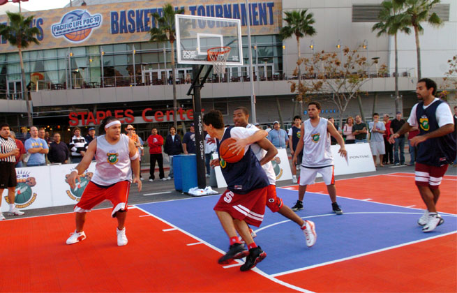 A staple of driveway and pick-up games, 3-on-3 basketball is trying to become part of the Olympics by 2016.