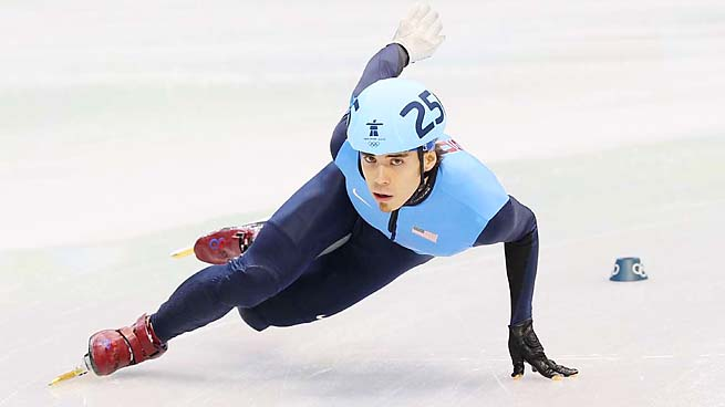 Apolo Ohno completed his Olympic career in Vancouver in 2010, across the border from where he grew up.