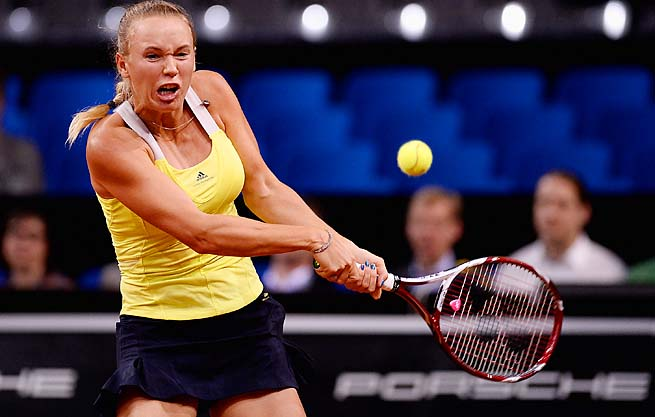 Caroline Wozniacki's best result this year was making the final at Indian Wells.