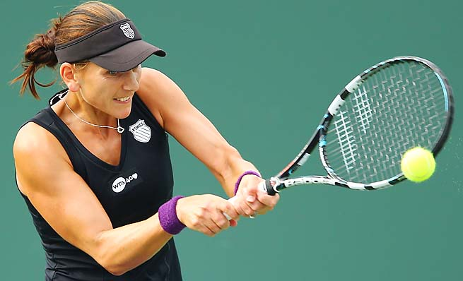 Chanelle Scheepers is ranked No. 70, down from her career high of No. 37 in 2011.