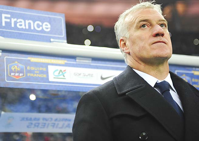 DIdier Deschamps followed Laurent Blanc as French national coach last year.
