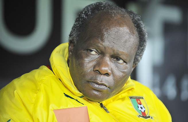 Jean-Paul Akono took over as Cameroon's interim coach in September.