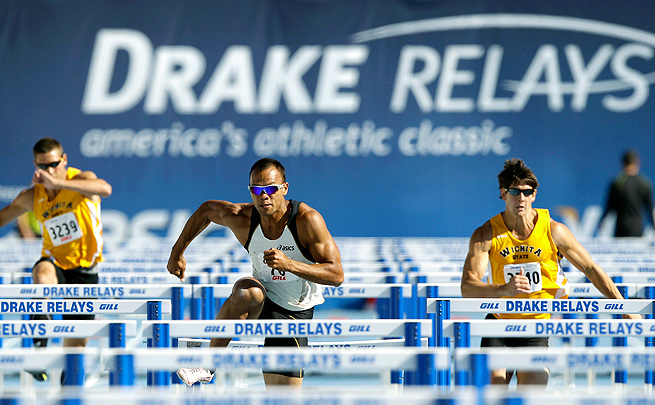 The Drake Relays hopes to compete with the Penn Relays by providing winners large cash prizes.