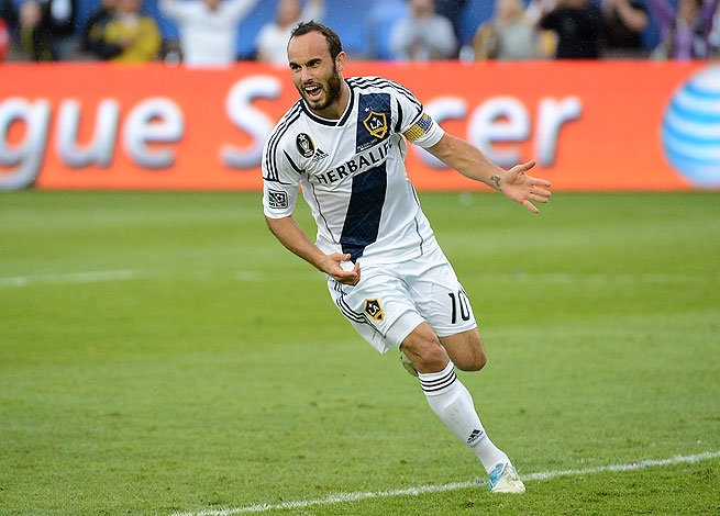 Landon Donovan has only recently returned to the L.A. Galaxy after taking a long sabbatical from soccer.