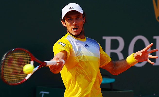 Juan Monaco is coming off a round-of-16 results in Monte Carlo, where he took a set off Novak Djokovic.
