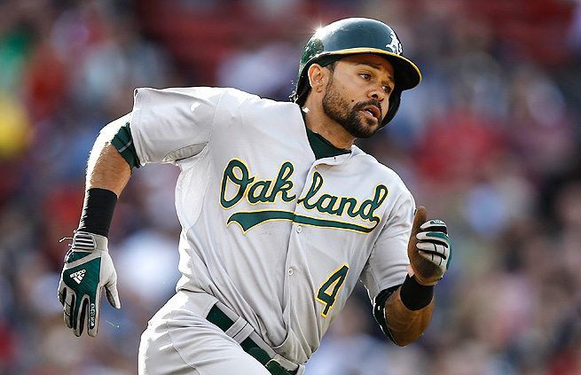 Coco Crisp's plate discipline proves he can sustain his high batting rates through the season.