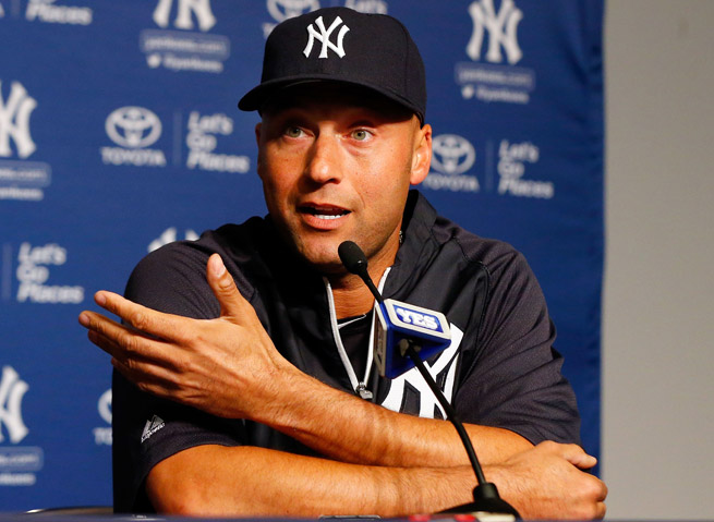 A broken ankle suffered in the 2012 playoffs will keep Derek Jeter sidelined until at least July.