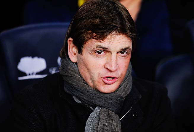 Tito Vilanova and Barcelona lost 4-0 in the first leg to Bayern Munich. The return is Wednesday.