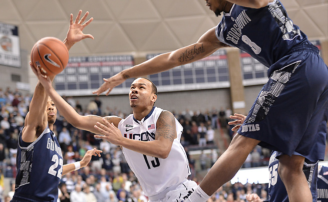 Shabazz Napier, who once considered transferring from UConn, will return for his senior season.