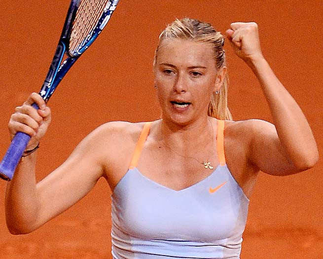 Maria Sharapova is set to go to Moscow after Stuttgart to introduce Sugarpova candy in Russia.