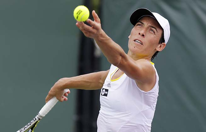 Francesca Schiavone, ranked No. 48, hadn't made it past the quarterfinals of an event this year.