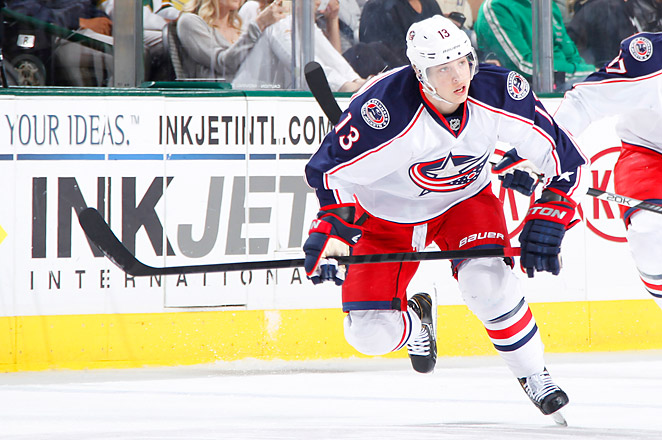 Cam Atkinson was selected by the Blue Jackets during the sixth round of the 2008 NHL draft.