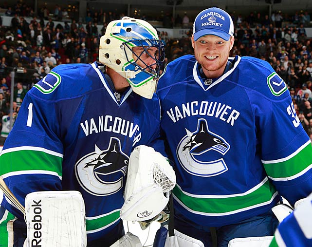 "The matter was supposed to be settled, with Schneider, 27, taking over as the No. 1 and the often-assailed Luongo relegated to back-up duty (and subsequently longing for a trade). Schneider was hot (11-3-1, with four shutouts and a .942 save percentage) when he went down with undisclosed injury that sidelined him on April 22. Back came Luongo, who closed the campaign with two losses, including a 7-2 stinker against the Oilers. ""If Schneids is healthy, Schneids is going to play,"" coach Alain Vigneault told the <italics>Vancouver Province</italics>. ""If not. I've got total confidence in Lui."" Questions now are: how healthy will Schneider be (he was day-to-day at the start of the playoffs), and if the Canucks must rely on Luongo, how deep can they go?"