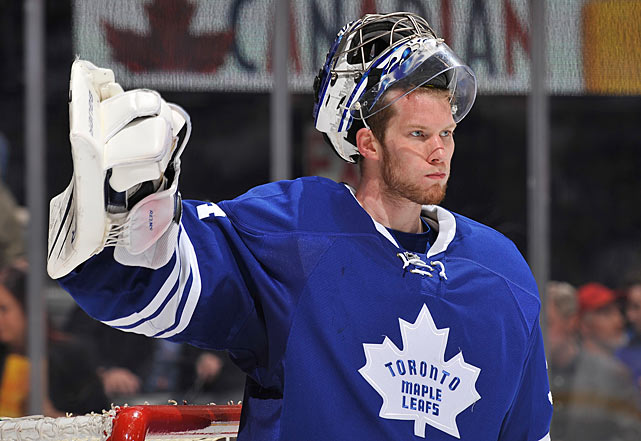 "The Leafs' propensity for getting bottled up in their own end of the ice while being peppered with shots will put plenty of pressure on their starting goaltender. And then there's the matter of Leafs Nation's hunger for some postseason success after a string of seven empty springs. But if anyone's up for the challenge, it's Reimer, 25, a Masterton Trophy nominee for ""perseverance, sportsmanship and dedication to hockey."" He's fought off injuries and competition for the job, finishing the season with a career-high four shutouts and a top-10 save percentage (.924). As for his exactly zero games of postseason experience, that doesn't bother him, either. ""I expect to go out there and just try and stop that little black puck,"" he told the <italics>National Post</italics>. ""As far as I know, it's the same size. I don't think they change it for the playoffs."""