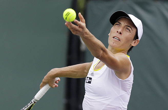 Italian Frencesca Schiavone didn't drop a set all tournament en route to winning her sixth title.