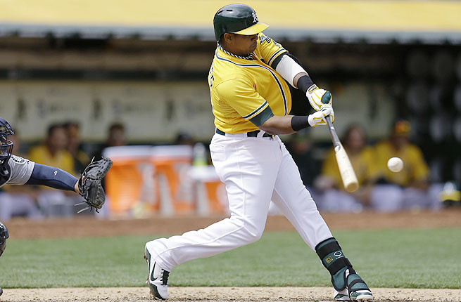 Since the beginning of last season, the A's are 90-48 with Yoenis Cespedes and just 17-32 without him.