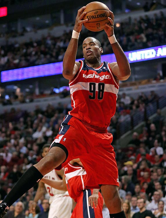 Jason Collins was traded from the Celtics to the Wizards in February 2013.