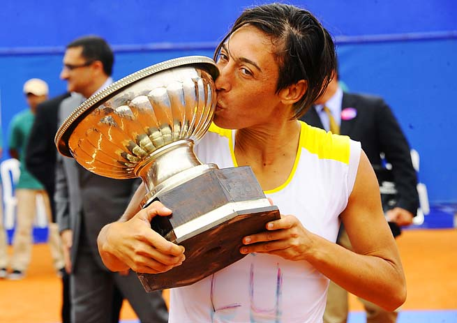 Francesca Schiavone won her second WTA title since the 2010 French Open.