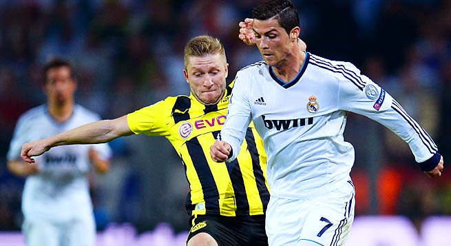 Cristiano Ronaldo scored Real Madrid's only goal in a 4-1 loss to Dortmund last week.