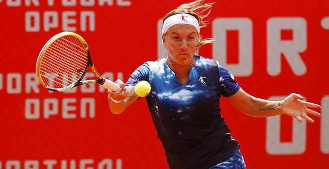 Svetlana Kuznetsova beat Varvara Lepchenko 6-7 (2), 6-3, 6-2.
