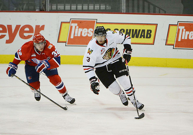 Colorado now has the opportunity to draft Seth Jones (right), regarded as the top prospect available.