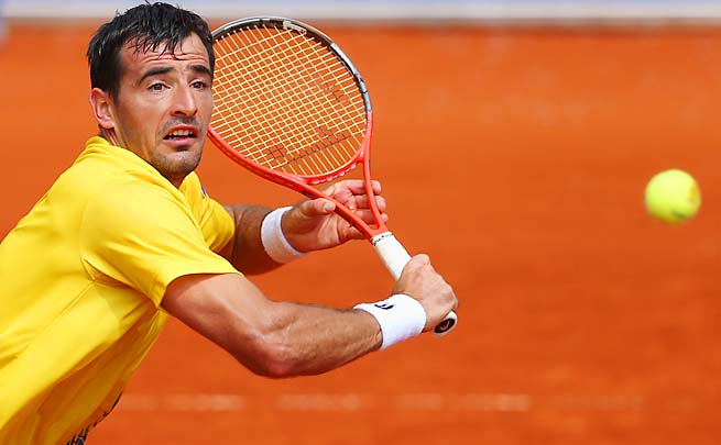 Ivan Dodig has risen from 72nd to 56th in the ATP rankings this season.