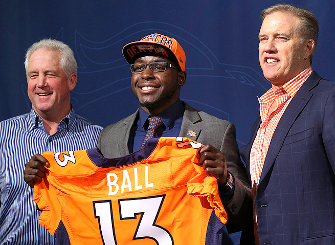 Running back Montee Ball will likely play a significant role in the Denver running game this season.