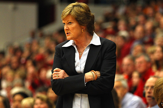 Pat Summitt, who stepped down as head coach last April, led Tennessee to 18 Final Four appearances.