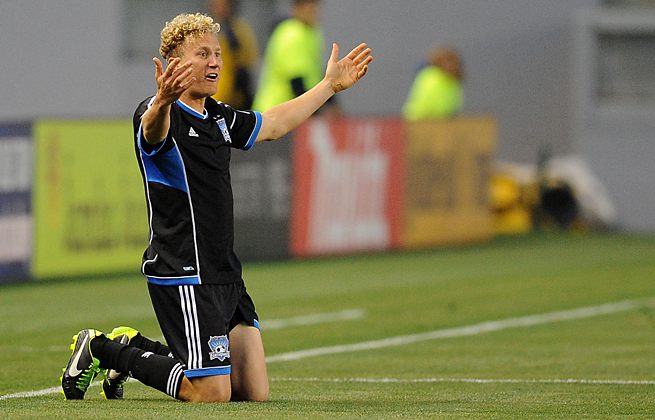 The Earthquakes' Steven Lenhart was suspended two games by MLS for cleating Chivas' Mario de Luna.