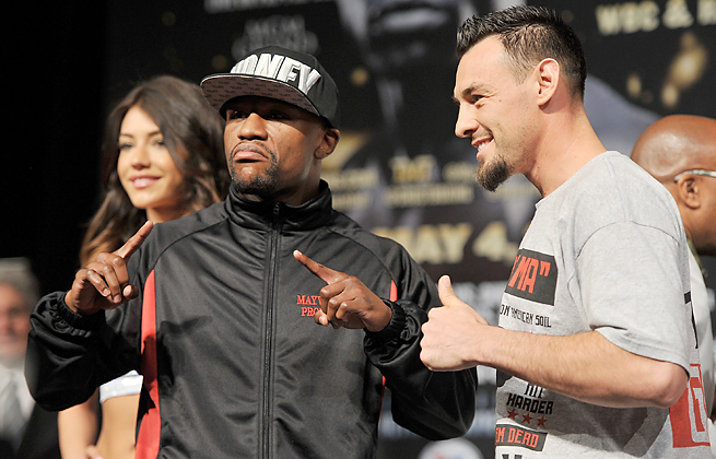Robert Guerrero feels his diverse fight experience will allow him to beat Floyd Mayweather Jr. Saturday.