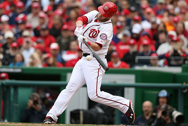 Bryce Harper started the season with a bang, homering in his first two at-bats on Opening Day.
