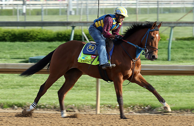 Vyjack coasted through three furlongs in 37 seconds at Churchill Downs on Thursday afternoon.