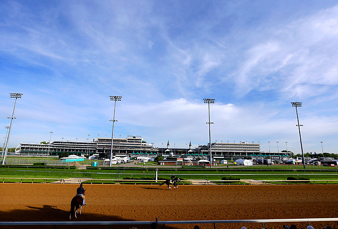 Churchill Downs spent $3 million on the new Mansion section, which is set to seat around 300 people.