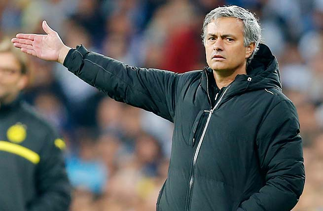 Jose Mourinho and Real Madrid were eliminated by Borussia Dortmund in the Champions League.