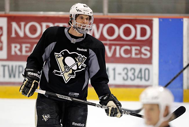 Sidney Crosby says he feels good, but expects to need an adjustment period in game action.