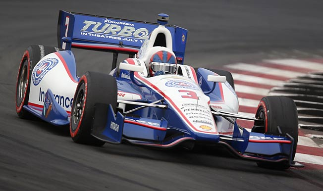 In Sao Paulo, Helio Castroneves will be gunning for his fourth straight top-10 finish.
