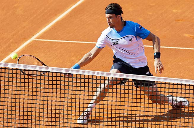 David Ferrer is the top-ranked Spaniard, one place above No. 5 Rafael Nadal.