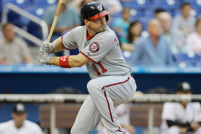 Ryan Zimmerman missed 14 games due to a strained left hamstring suffered on April 18.